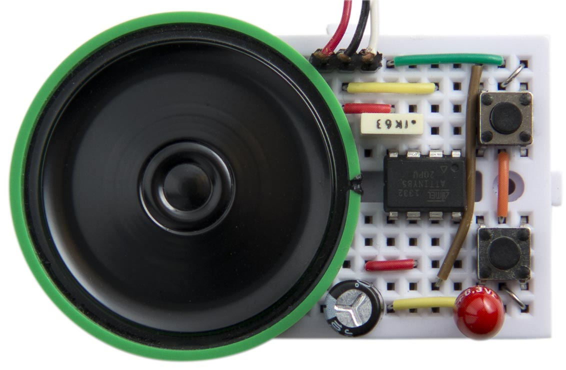 Technoblogy Audio Pitch Shifter Voice Over Circuit