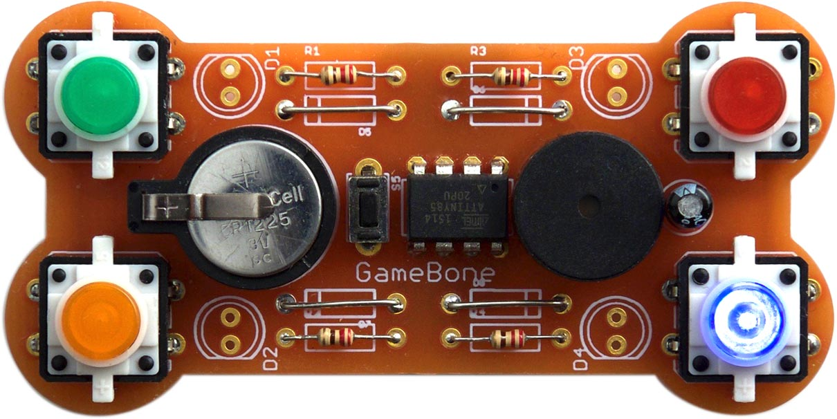 Technoblogy - GameBone Simple Electronic Game