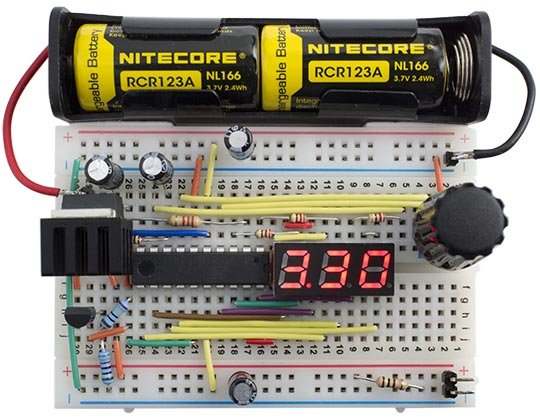 Technoblogy - Portable Lab Power Supply