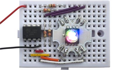 Technoblogy - Four PWM Outputs from the ATtiny85