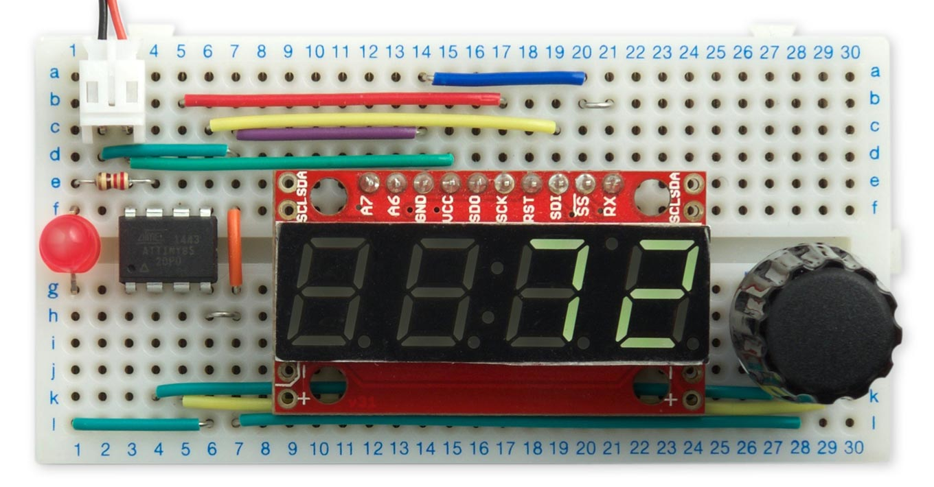 Technoblogy Bounce Free Rotary Encoder Led Display Board Circuit Rotaryencodertest