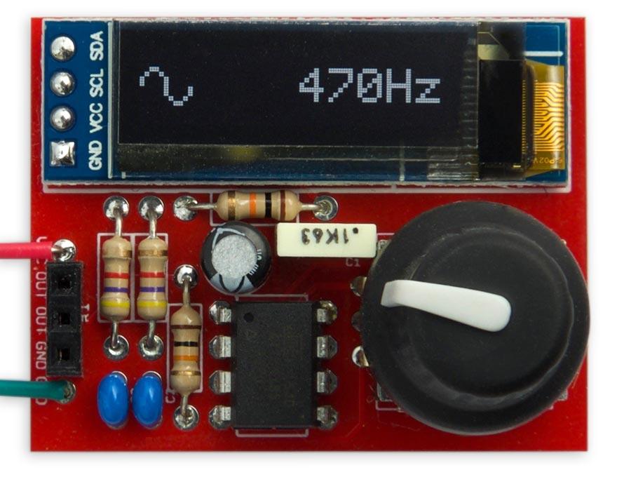 Technoblogy - Tiny Function Generator PCB